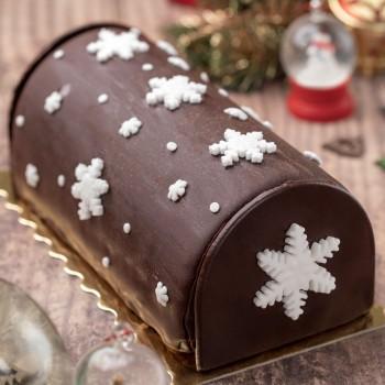 Reportage FRANCE 2 JT du 20 H     Noël : la bûche, star des desserts