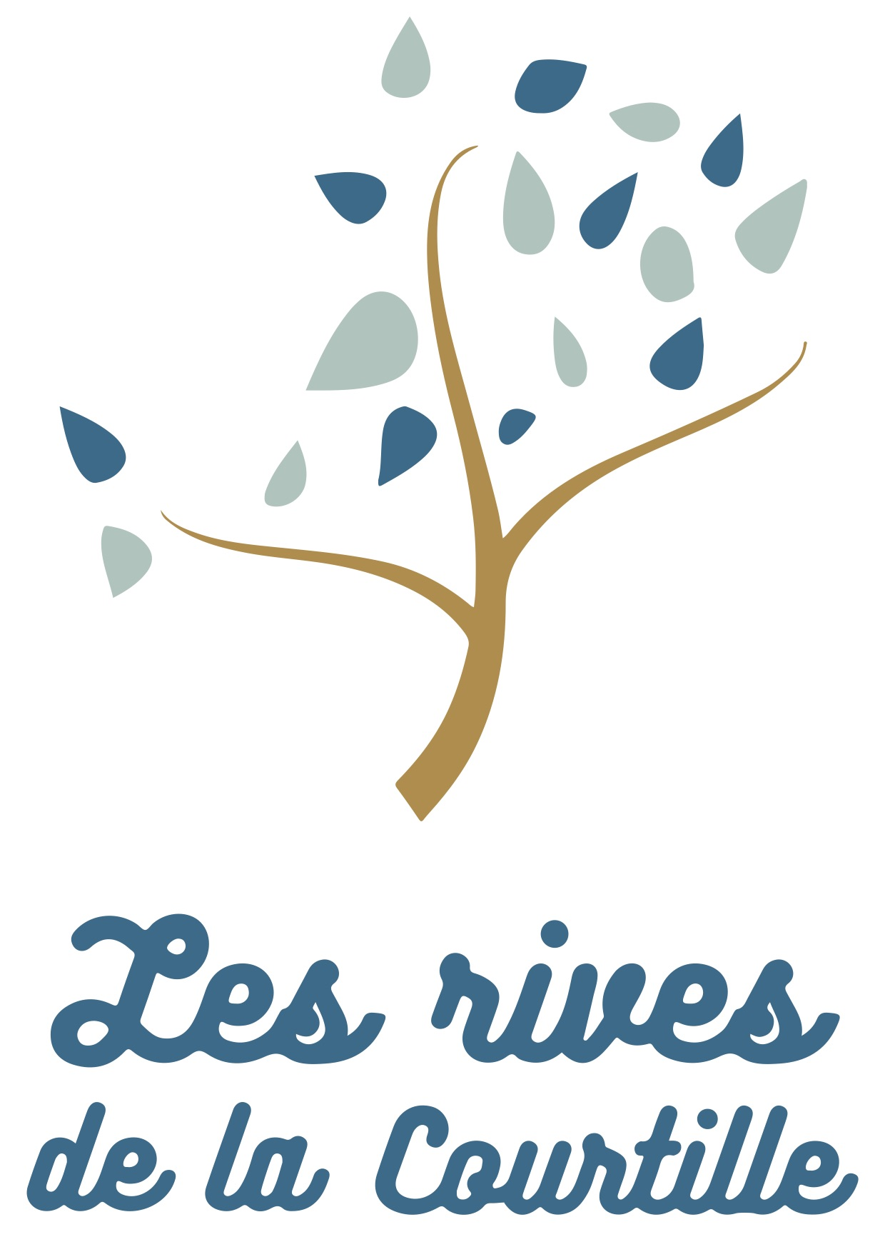 Logo Les rives de la courtille