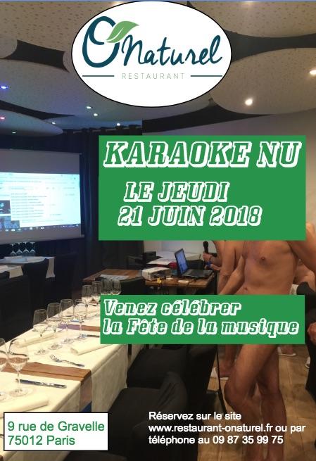 Karaoké fête de la musique