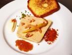 Photo Terrine de foie gras, purée de pomme verte, brioche  - CHEZ MICHEL