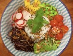 Photo Poke bowl vegetarien - Le Cameleone