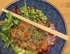 Photo poke bowl saumon - Le Cameleone