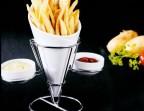 Photo Cornet de frite et sa sauce - Le Café d'Art-Scène