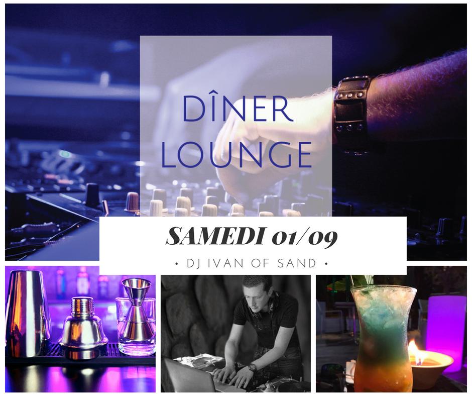 Diner et soirée Lounge