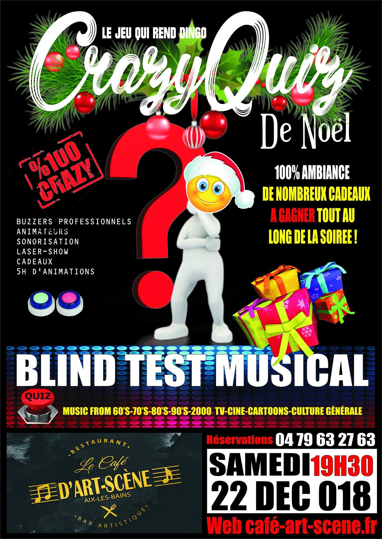 Diner et Blind test Musical