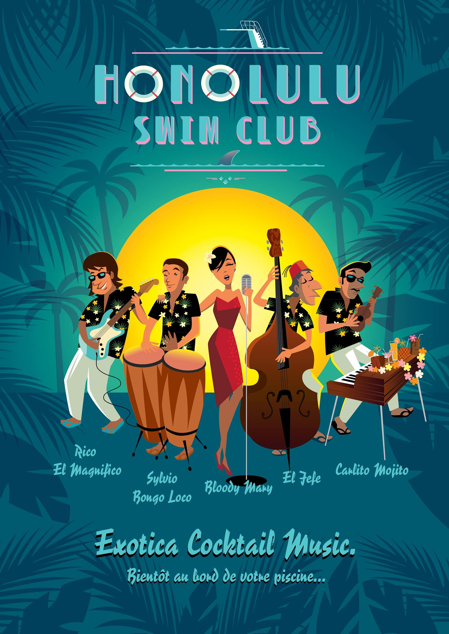Diner concert avec Honolulu Swing Club