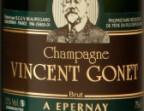 Photo Vincent Gonet brut - AOC Champagne - Le Ponton de Cassy