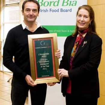 2011 Award Winners ATMOSPHERIC RESTAURANT OF THE YEAR 2011