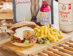 Photo Burger de cochon de lait  - La Baguernette by ISNOR