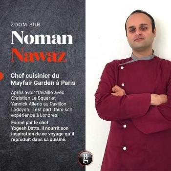 Zoom sur Noman Nawaz - Bottin Gourmand