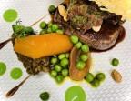 Photo Tournedos de bœuf rôti,et son tartare coupé au couteau. - Le stras'