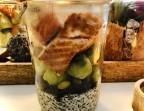 Photo Pavé de saumon Bio grillé, riz vénéré aux arachides et choux de Bruxelles. - Le stras'