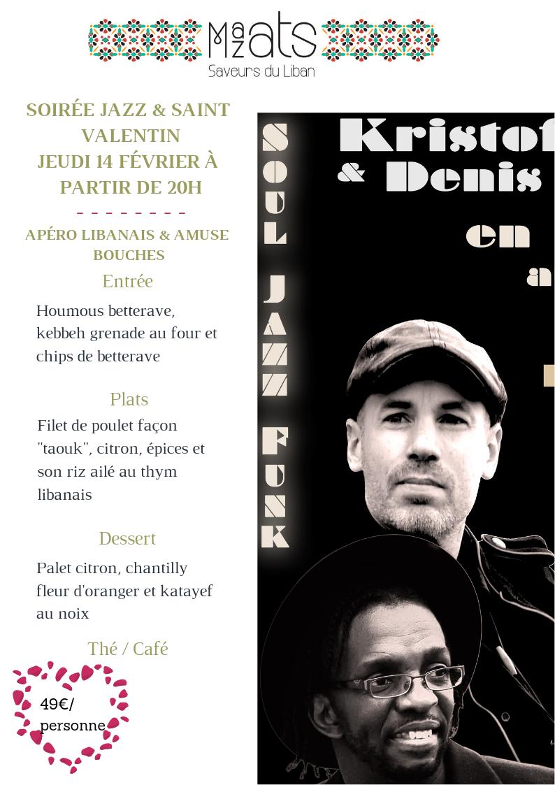 Soirée Jazz & Saint Valentin