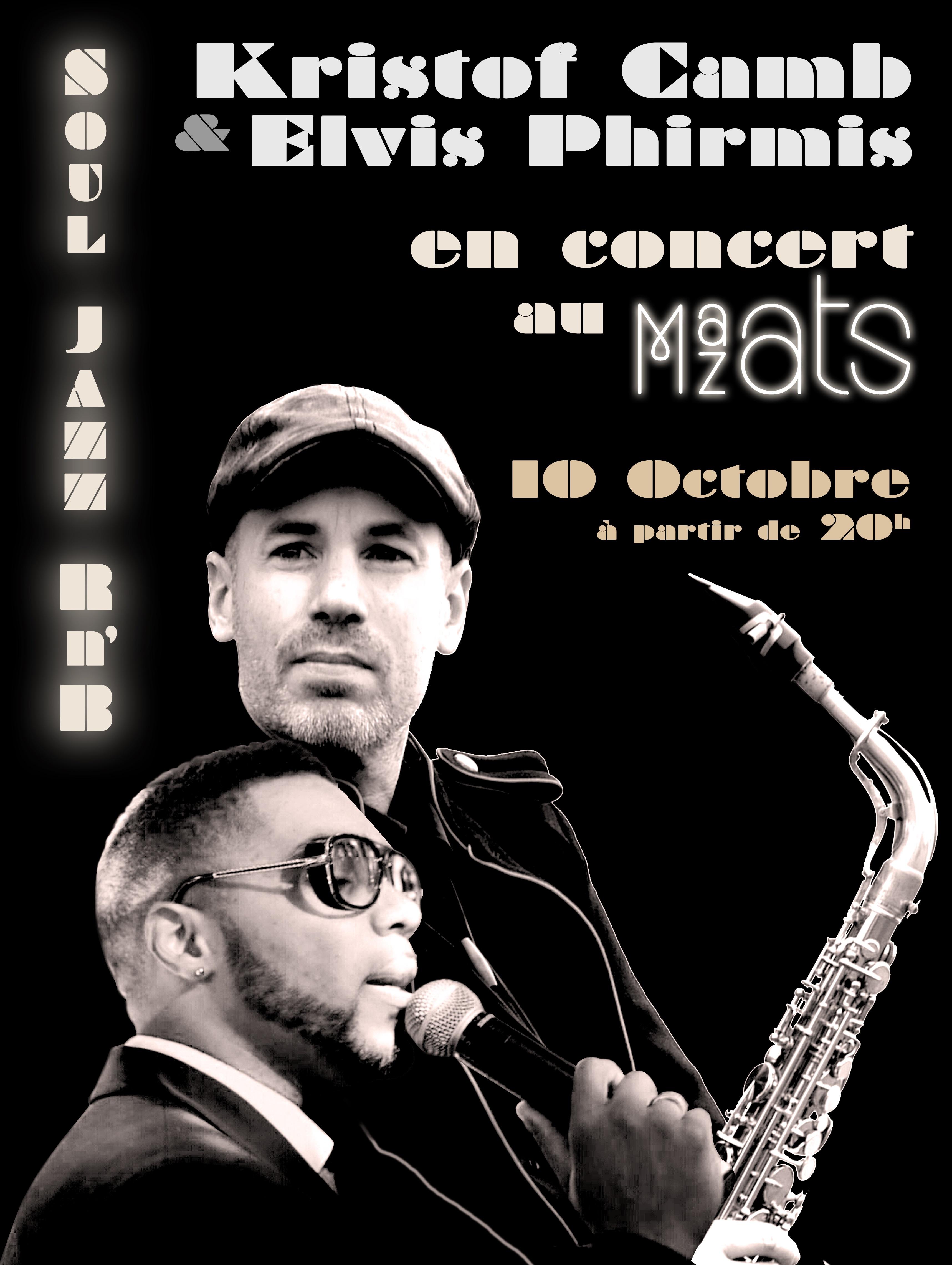 Restaurant Mazats - Soirée Soul & Jazz à la carte - Jeudi 10 Octobre