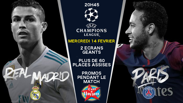 Ligue des Champions : REAL MADRID vs. PSG