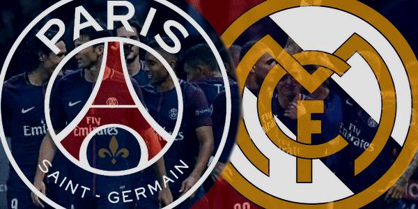 Diffusion PSG Réal Madrid