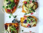 Photo Sweet potato and avocado toast - Health Inside