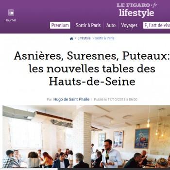 Les Nouvelles Tables des Hauts de Seine