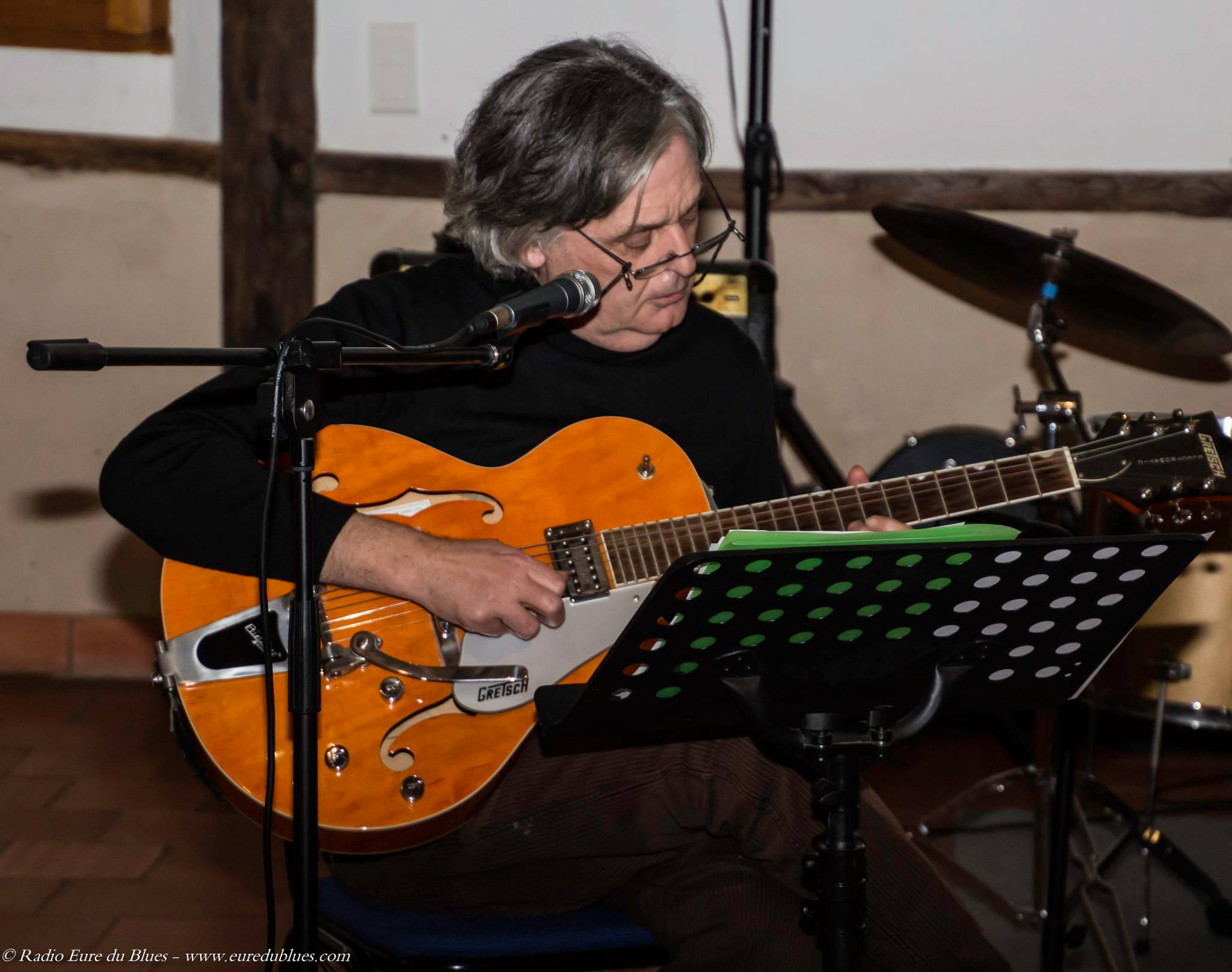 Dîner concert ave Eric Fournaire, voix et guitare