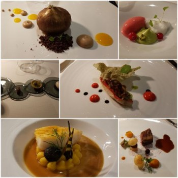 UN DÎNER À L'INSTITUT PAUL BOCUSE À ECULLY