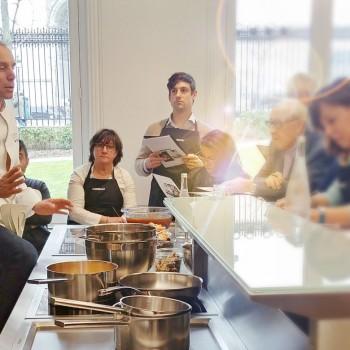 Atelier culinaire Gaggenau avec Davy Tissot
