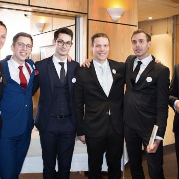 Xavier Gonet notre Maître d'Hôtel en final pour le Trophée du Maître d'Hôtel