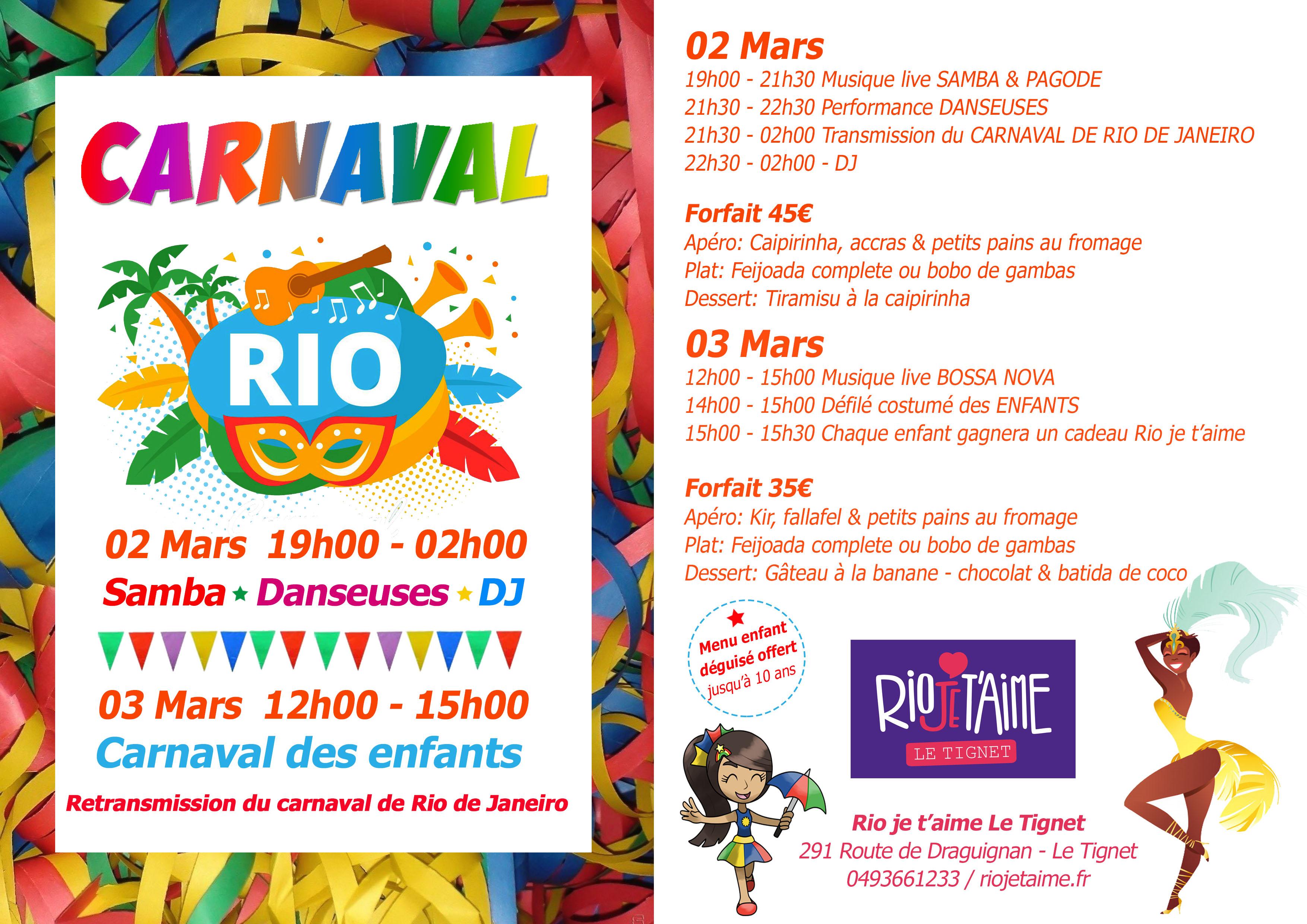 CARNAVAL RIO JE TAIME