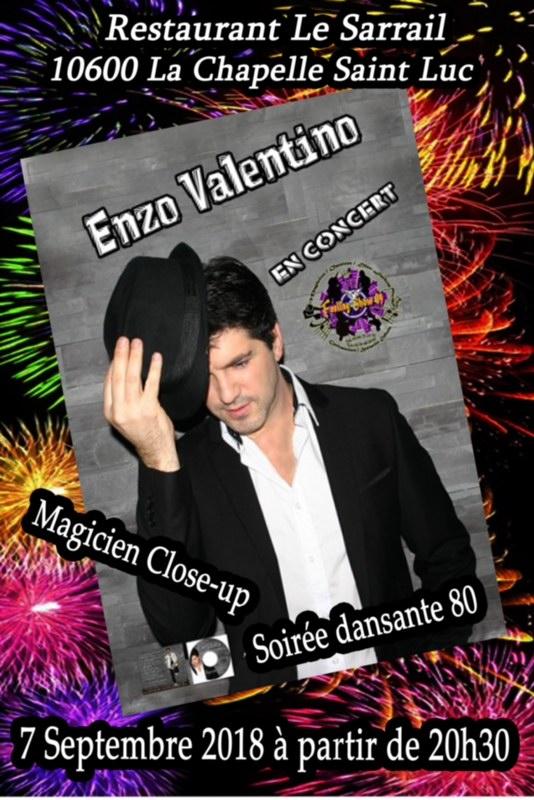Soirée Enzo Valentino