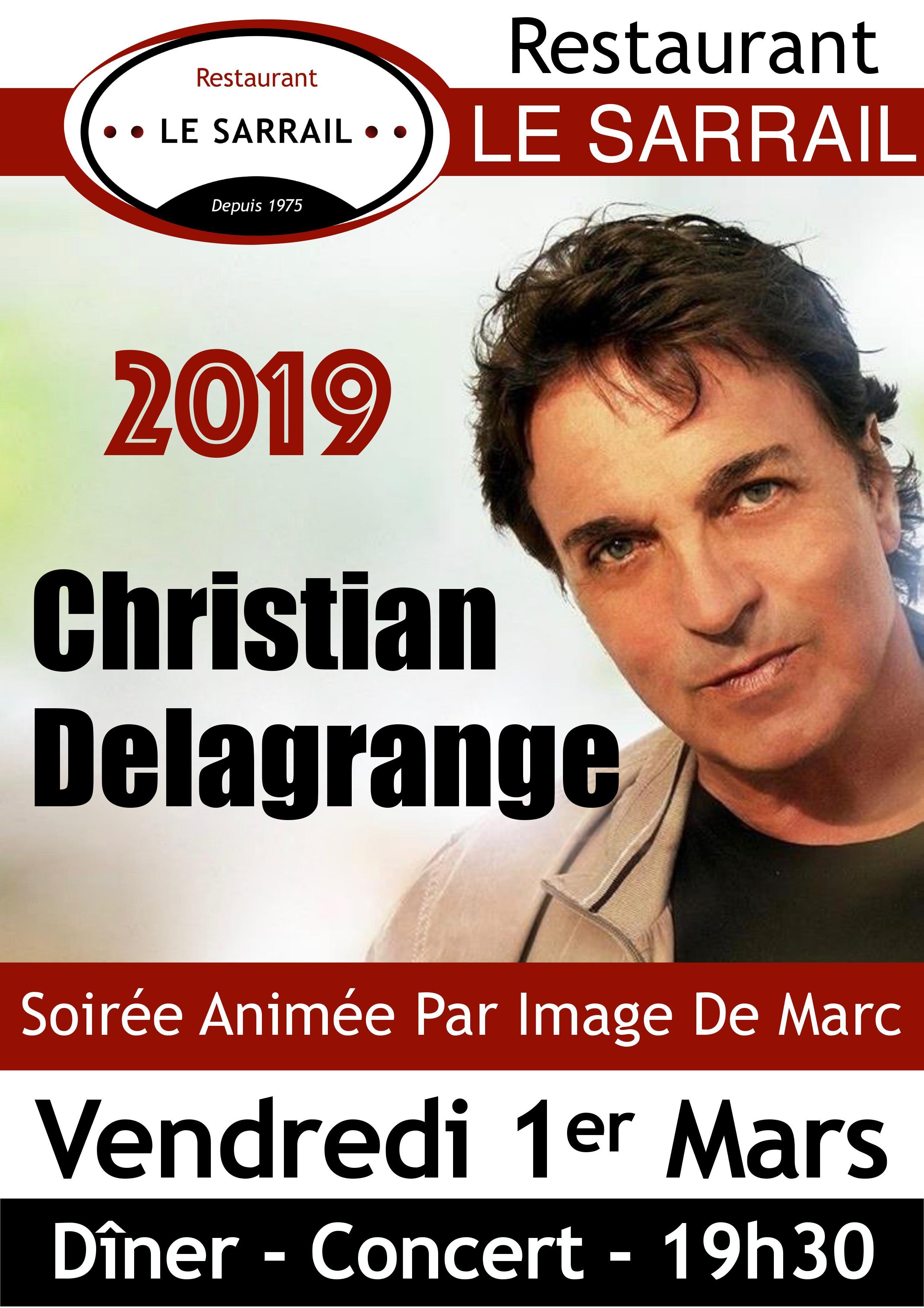 Soirée Christian Delagrange