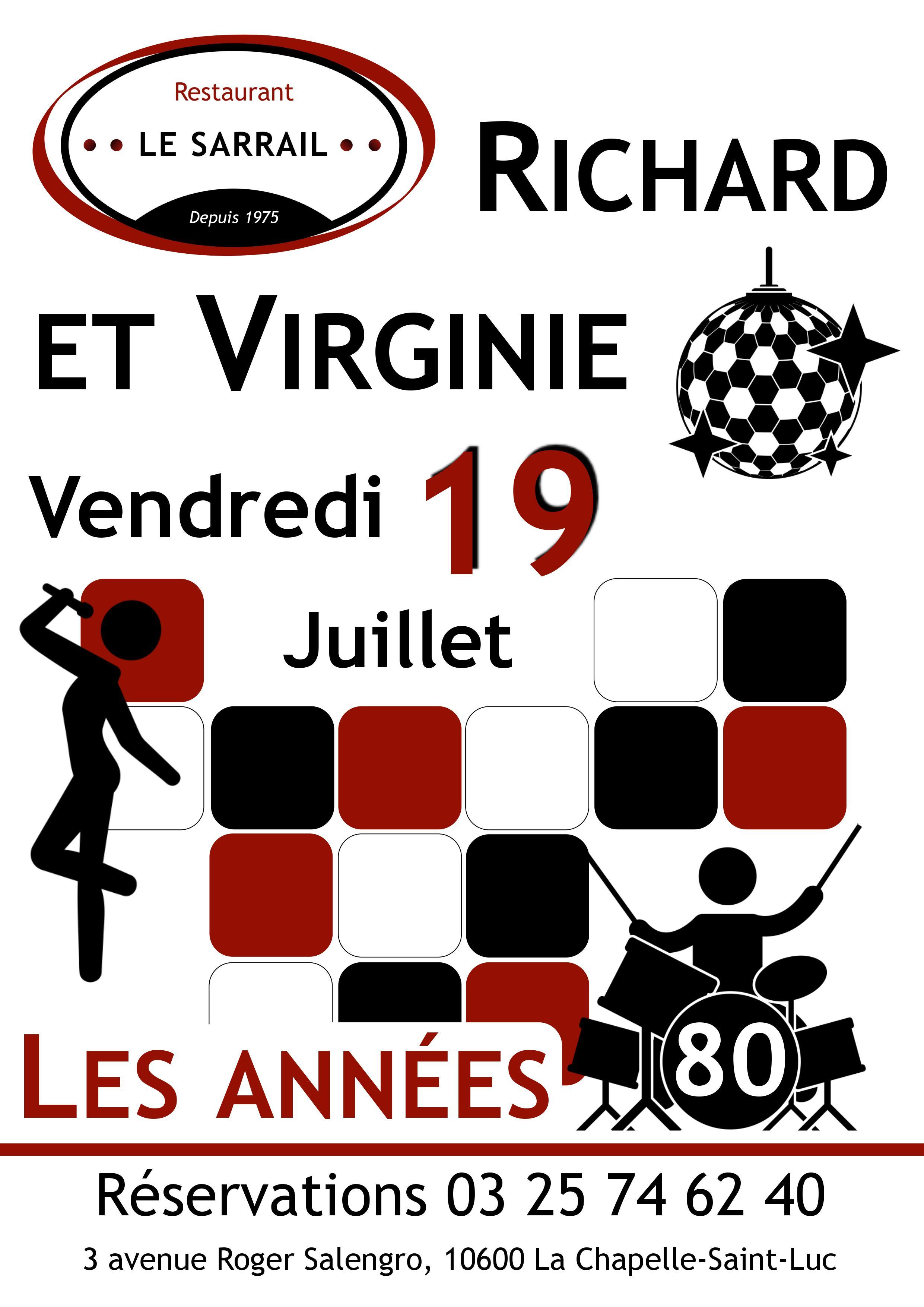 Soirée Richard & Virginie