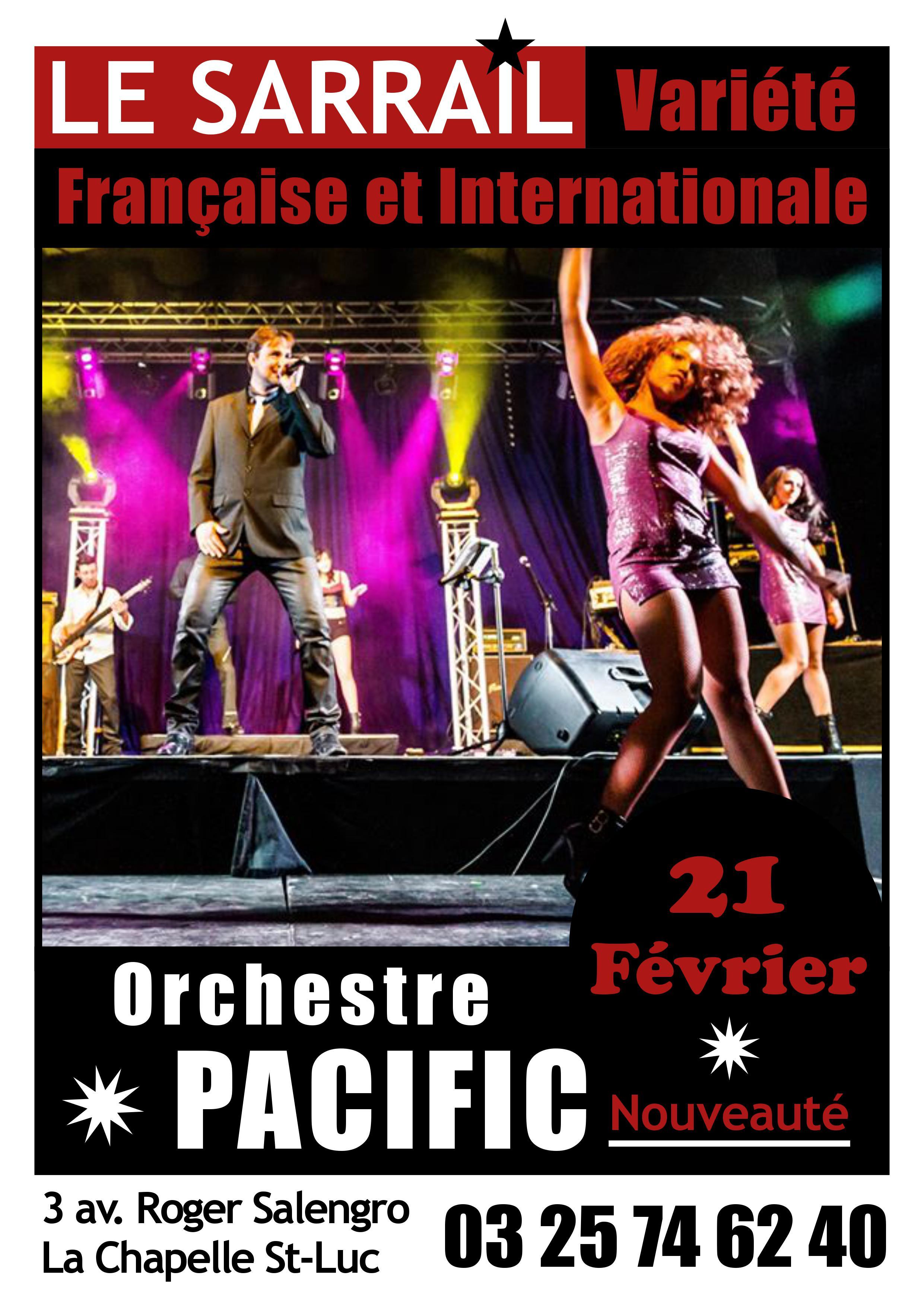 Soirée Orchestre Pacific