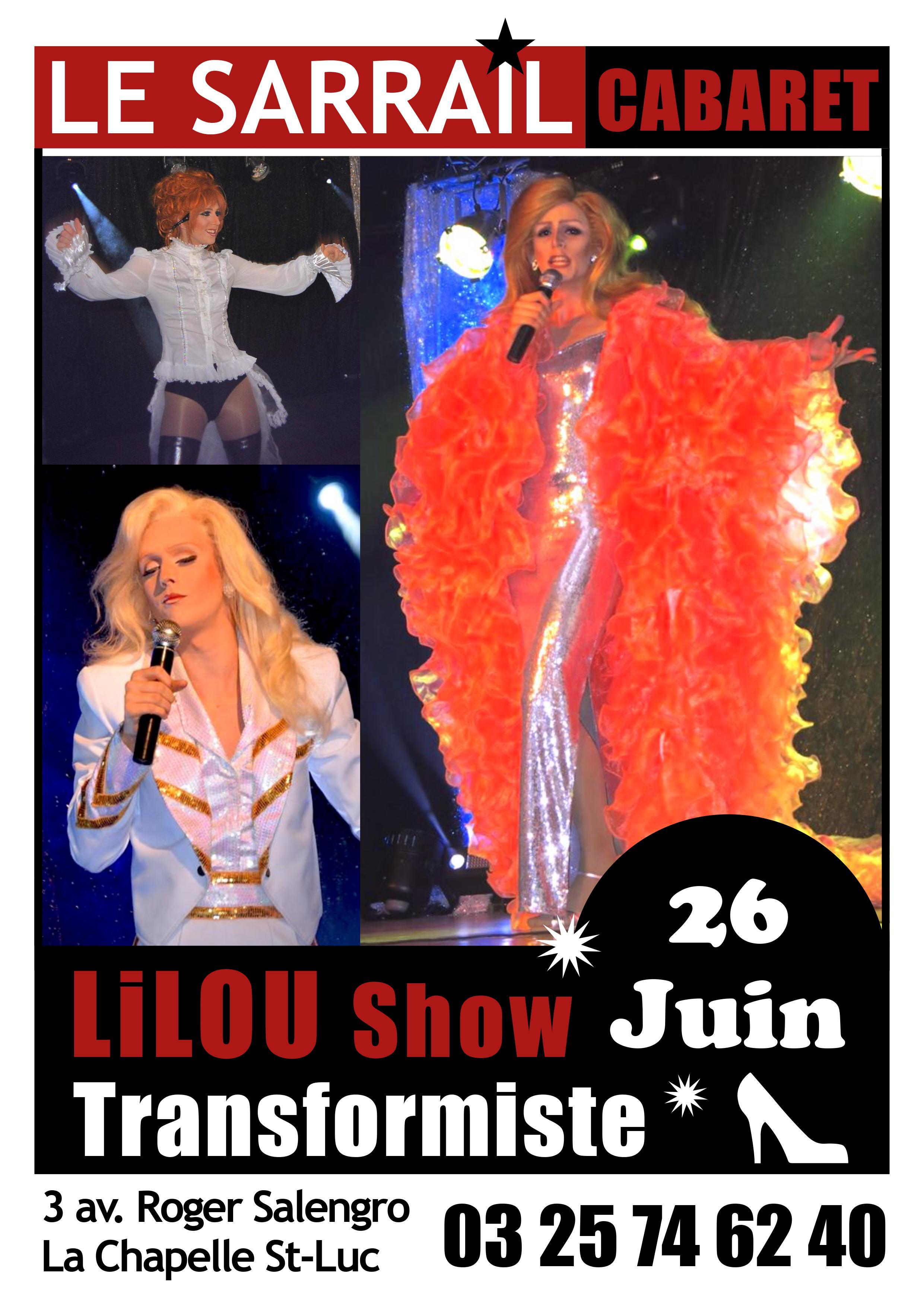 Soirée Lilou Show Transformiste