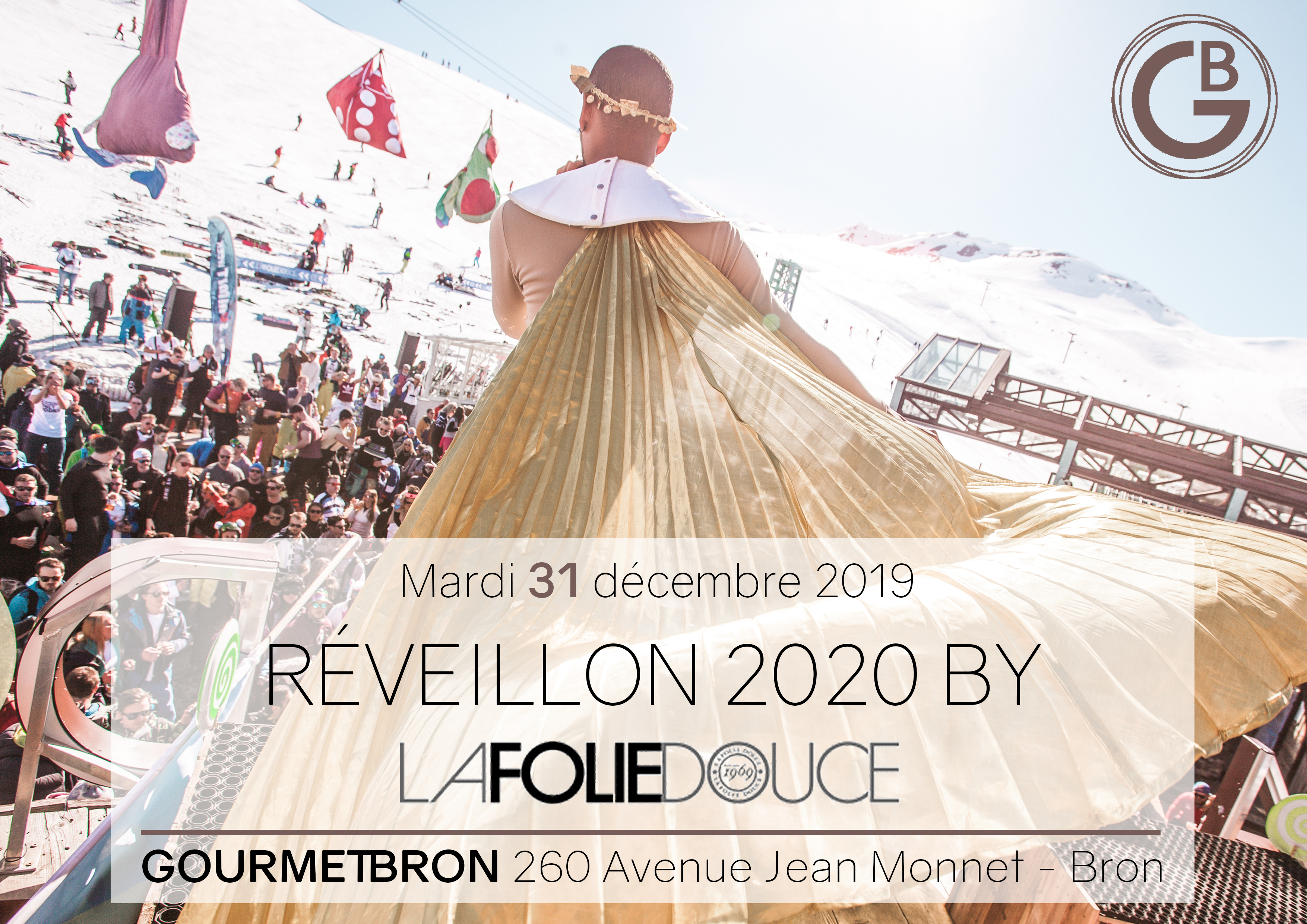 Réveillon 2020 By La Folie Douce