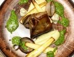 Photo Agneau façon Mémé, crémeux et croquant de panais, oignon AOP de Roscoff, salsa verde à la menthe - La Cantine de Mémé