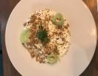 Photo Tzatziki Mémé, duo de quinoa, siphon à la cardamome et granola de la Mère Mimosa - La Cantine de Mémé