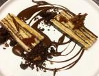 Photo L'Opéra Mémé : biscuit Joconde, crème au beurre et café, ganache au chocolat noir 75% cacao - La Cantine de Mémé