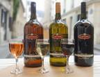 Photo Verre de vins Capurso ROSE - SALENTO Montmartre