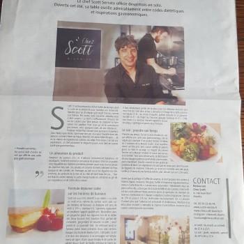 Chez Scott, nouveau rendez-vous gourmand à Biarritz