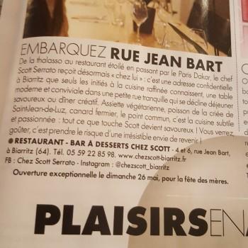 Elle Magazine : Embarquez rue Jean Bart!