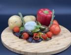 Photo Burrata Et Ses Légumes Grillés - Le Factory