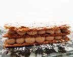 Photo Millefeuille au chocolat et menthe - RESTAURANT LE GAIGNE