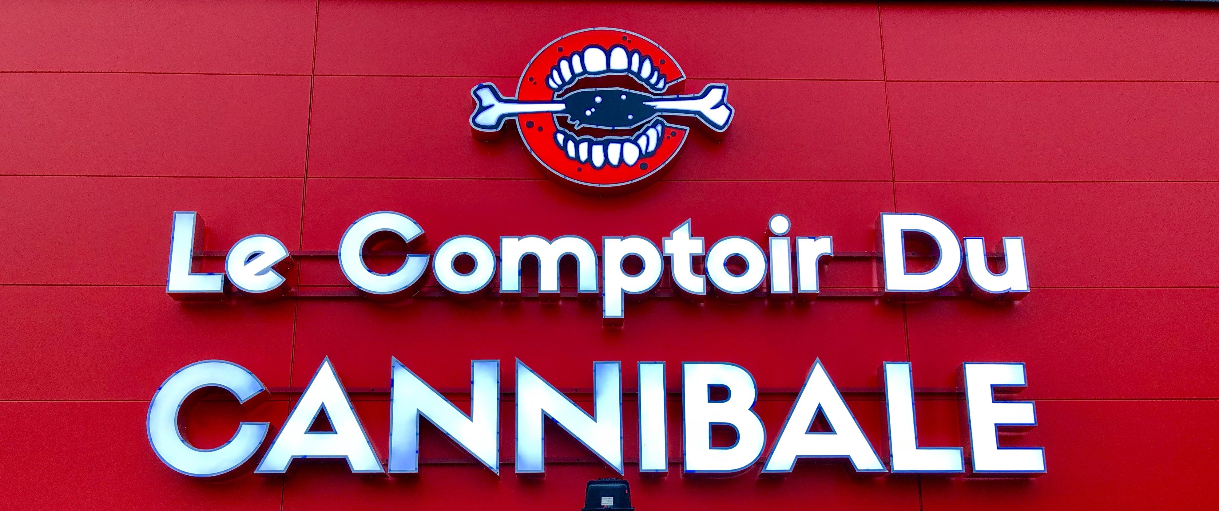 Logo Le Comptoir Du CANNIBALE