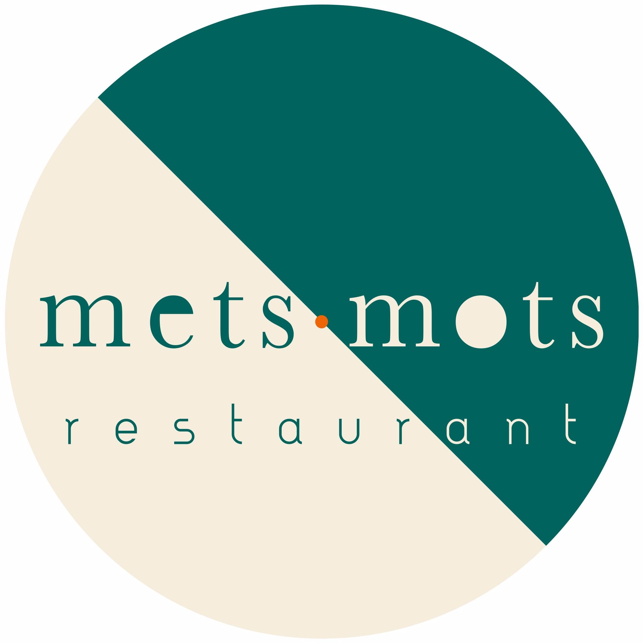 Logo Restaurant Mets Mots