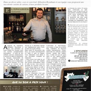 L'Épicurien, nouveau restaurant ouvert place Foch
