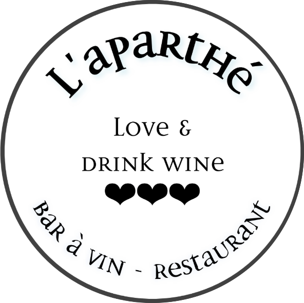 Logo L'Aparthé bar à vin - Restaurant & Brunch