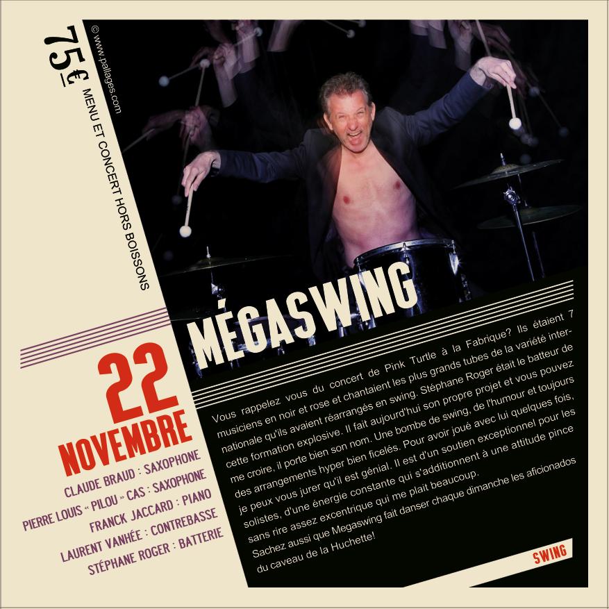 Soirée Jazz Mégaswing