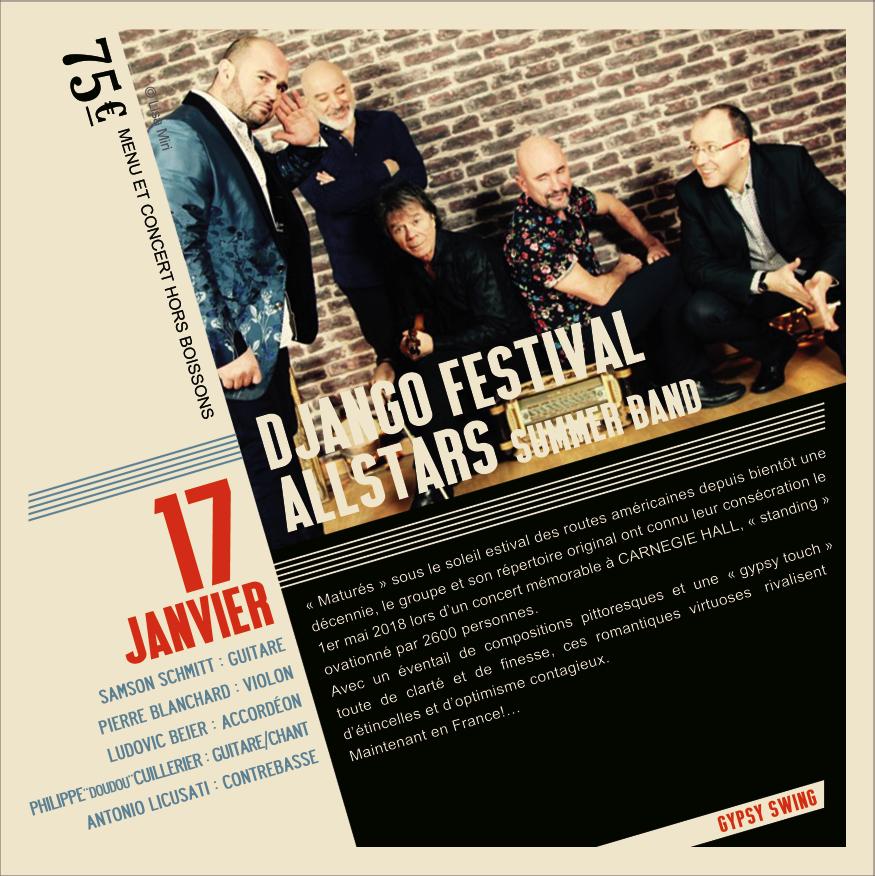 Soirée Jazz Django Festival AllStars