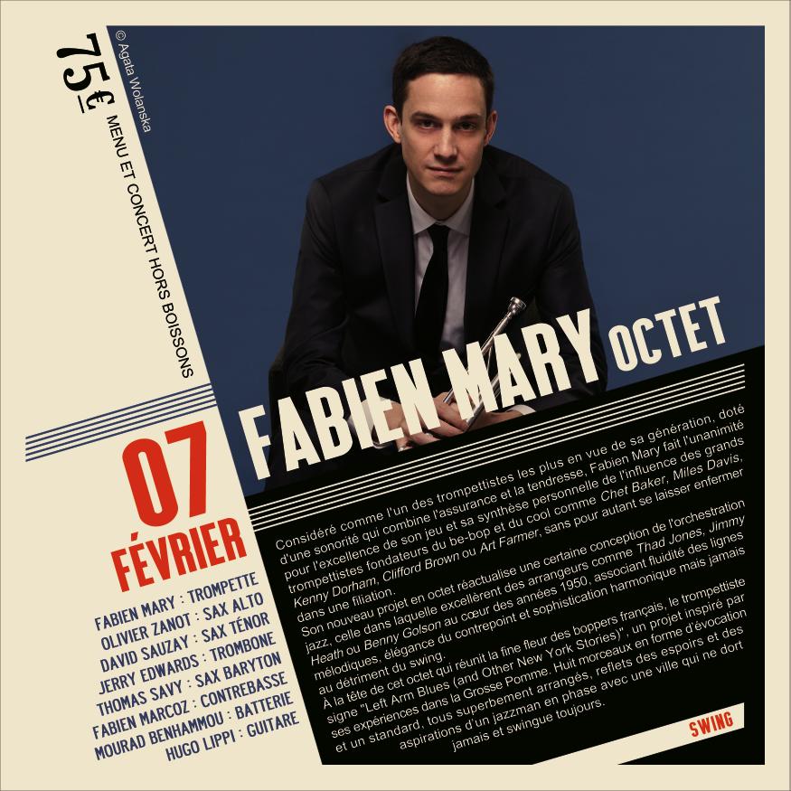 Soirée Jazz Fabien Mary Octet