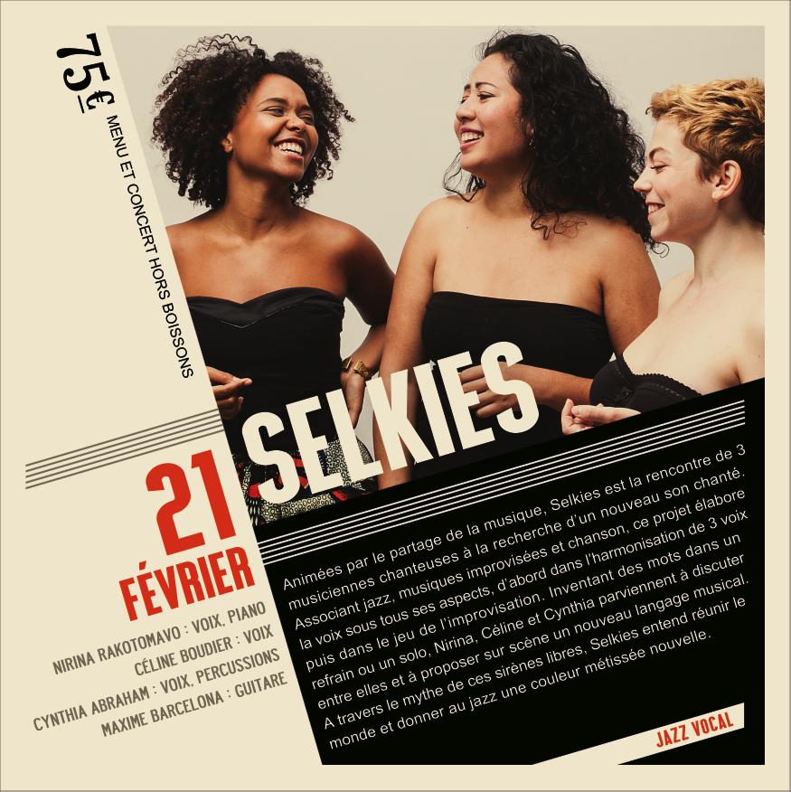 Soirée Jazz Les Selkies