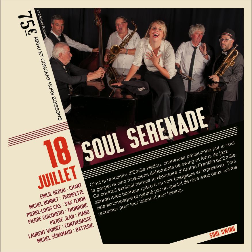Soirée Jazz Soul Serenade